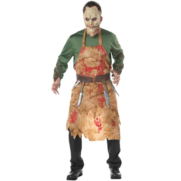 Bloody Butcher Men's Bloodstained Costume
