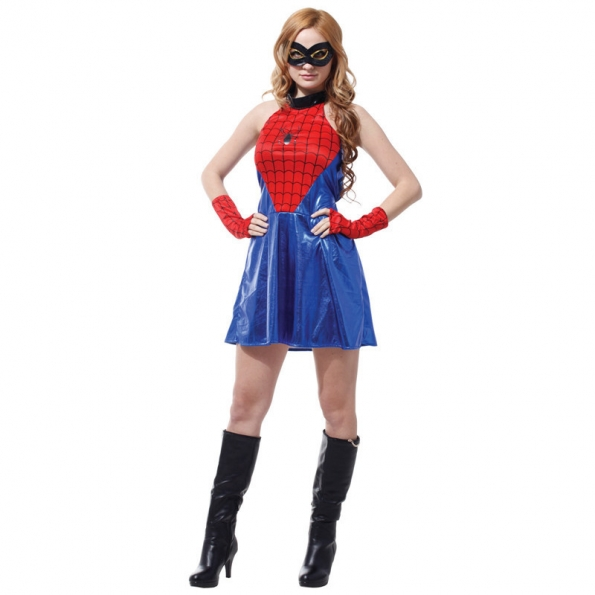 Spiderman Costume Adult Sexy Style
