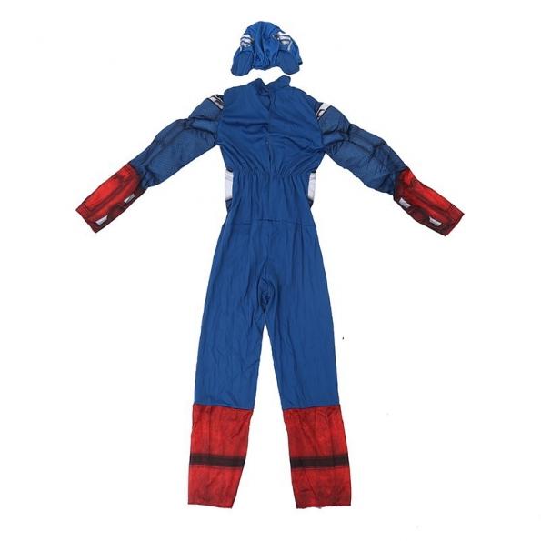Captain America Costume Kids Cos