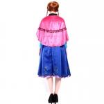 Halloween Costume Ice And Snow Anna Dress