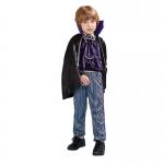 Baby Halloween Costumes Purple Vampire Suit