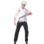 Chainsaw Madman Doctor Zombie Costume