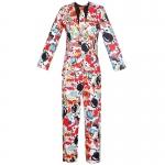 80s Costumes Color Graffiti Suit