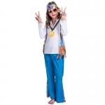 80s Costumes Hippie Flower Suit