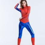 Women Halloween Costumes Spider Man Bodysuit Heroine