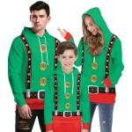 Family Halloween Costumes Christmas Buttons Clothes