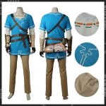 Anime Costumes The Legend of Zelda Link Cosplay - Customized
