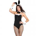Halloween Costumes Black Rabbit Tight-fitting Dress