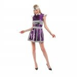Family Halloween Costumes Purple Alien Suit