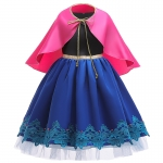 Disney Costumes for Kids Anna Shawl Dress