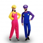 Couples Halloween Costumes Super Mary Cosplay