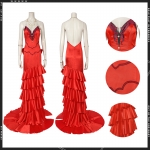 Anime Costumes Final Fantasy VII Aerith Cosplay