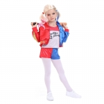 Harley Quinn Costume Kids Suits