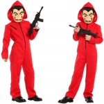 Movie Character Costumes Robbery Boy