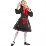 Scary Curse Doll Kids Costume