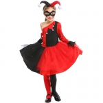 Funny Clown Harry Movie Character Girl Costume