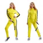 Celebrity Halloween Costumes Bruce Lee Cos Suit