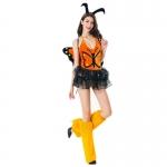 Sexy Halloween Costumes Elves Dragonfly Princess Dress