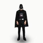 Star Wars Costumes Set Black Style Cosplay
