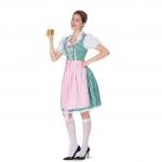 Plus Size Halloween Costume Beer Girl Dress