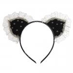 Playboy Bunny Outfit Vintage Lace Headdress