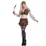 Women Halloween Costumes Pirate Miniskirt