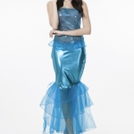 Women Halloween Costumes Mermaid Princess