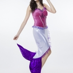 Women Halloween Costumes Mermaid princess Clothes Game Style