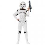 Star Wars Costumes White Kids Soldier