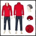 Pokemon Costume Sword and Shield Victor Cosplay - Customized