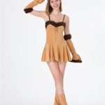 Sexy Halloween Costume Deluxe Lion Clothes