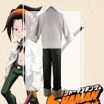 Anime Costumes Shaman King Yoh Asakura Cosplay