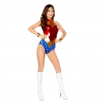 Sexy Halloween Costumes Wonder Woman Clothes Superman Style