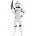 Star Wars Costumes White Kids Soldier
