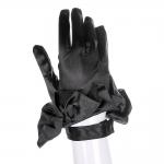 Halloween Props Elegant Black Gloves