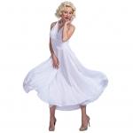 Sexy Halloween Costume Marilyn Monroe Style Dress