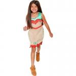 Pocahontas Indian Princess Dress Kids Costume