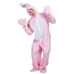 Rabbit Costumes Pink Animal Pajamas