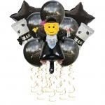 Graduation Decorations Aluminum Balloon