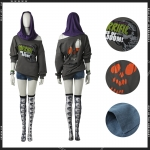 Anime Costume Watch Dogs 2 DedSec Cosplay