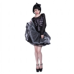Halloween Costumes Women Skeletons Dress