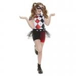 Queen Harley Quinn Girl Costume