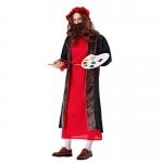Men Halloween Costumes Picasso Oil Painter Suit