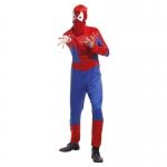 Spiderman Costume Adults Headgear Jumpsuit