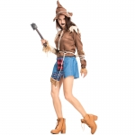 The Wizard Of Oz Straw Doll Witch Costume