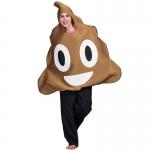 Adults Halloween Costumes Poo Emoji Shape