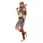 Halloween Costume Indian Leopard Aboriginal Style