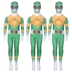 Superhero Costumes Dinosaur Team Green Warrior