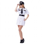 Police Officer Costume Captain