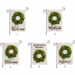 Christmas Decorations Wreath Pattern Style